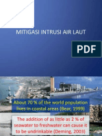 Mitigasi Intrusi Air Laut - Presentasi