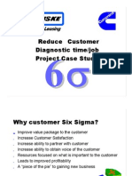 Reduce Customer Diagnostic Time and Job - Project Case Study