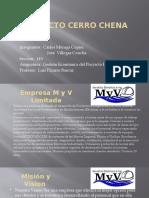Carta de Presentacion MyV Ltda.