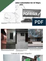 Fase 3 – Profundización .Popayán, Legados coloniales en el Siglo XXI