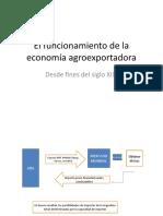 El funcionamiento de la economía agroexportadora