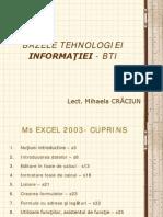 Cursul Excel2003 -partea 1