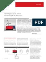 rol del GE en el escenario de las microgrid
