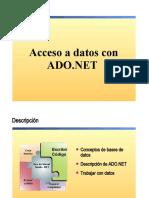 12.- Acceso a datos en Visual Basic .NET con ADO.NET