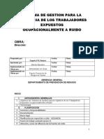 SIST. DE GESTIÓN VIGILANCIA RUIDO OCUPACIONAL