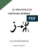 Arabic Influence in Ghomara Berber by J El Hannouche