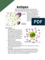 revised antigen encyopedia