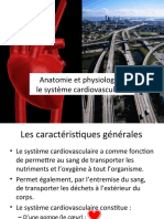 Anatomie et Physiologie du systeme cardiovasculaire