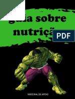 GUIA SOBRE NUTRIÇÃO