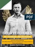 Geld verdienen mit Facebook- und Instagram-Werbung – Schritt für Schritt Anleitung – Mit Affiliate Marketing durch Facebook- und Instagram-Werbung onl_nodrm