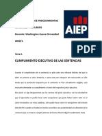 APUNTES 3 CUMPLIMIENTO EJECUTIVO DE LAS SENTENCIAS a