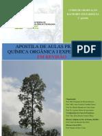 Apostila em revisão de Praticas de Química Orgânica I Exp.Rev2015-1