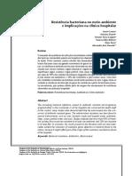 Resistência bacteriana no meio ambiente%0D e imp.pdf