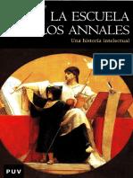LA ESCUELA DE LOS ANNALES - Una historia intelectual