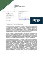 PROGRAMA PSICOLOGIA GENERAL PSI 102