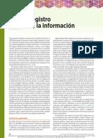 Registro de la información en practica clinica