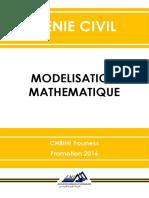 Modélisation Mathématique Cours
