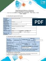 """Guía de actividades y rúbrica de evaluación – Pos Tarea - Caso """"IPS –VIVIR"""""""