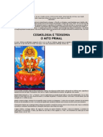 Hindu Cosmologia e Teogonia - o mito primal