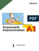 Intensivtrainer Grammatik - A1