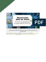 La Resolución 666 de 2020 define los protocolos generales de bioseguridad.pdf
