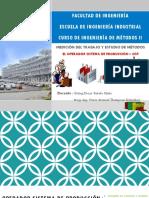 Estudio de Métodos y Medición del Trabajo - Operador Sistema de Producción