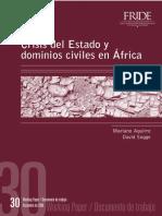 crisis del estado en africa