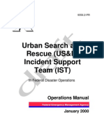 Urban Search & Rescue (USAR) Incident Support Team Manual