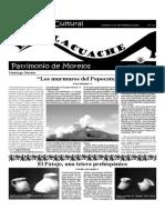 Suplemento el Tlacuache, DOMINGO 2 DE SEPTIEMBRE DE 2001