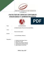 ACTIVIDAD FORMATIVA PROYECTO DE INVERSIÓN PÚBLICA
