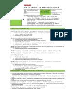 Planificación Unidad 0 - 3° Básico
