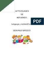 ACTIVIDADES 2° BÁSICO.