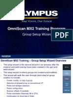 MX2 Training program 5B Group Setup Wizard