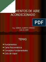 FUNDAMENTOS DE AIRE ACONDICIONADO