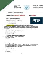 __Homework  Pharmacology resp system