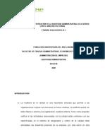 DIAGNOSTICO Y PRESENTACIÒN DE LA AUDITORIA ADMINISTRATIVA, DE ACUERDO CON EL ANALISIS FACTORIAL