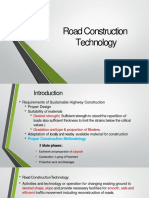 6. Road Construction Technology