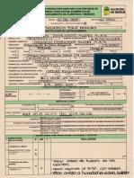 Acta de Inspección Sanitaria Junio 2018 HUEVOS COLGRANJA