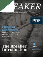 The Breaker Magazine - 1st Issue
