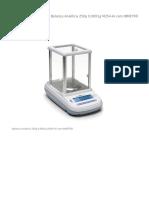 Balança Analítica 250g 0,0001g M254-Ai com INMETRO