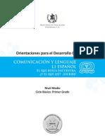 1. ODEC (Primero básico) Comun. y Leng.  L1 español.pdf
