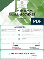 Índice de Riesgo Municipal de Covid-19