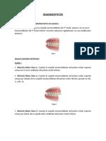 CLASIFICACION DE LOS DIAGNOSTICOS OCLUSALES.docx