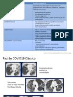 Padrões tomográficos COVID
