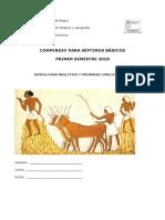 Compendio de Historia séptimo básico - Neolítico y primeras civilizaciones