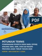 Juknis Ppdb Jatim - 16 April 2020 - Upt. Tikp Disdik Jatim