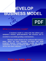 DEVELOP BUSINESS MODEL.pptx