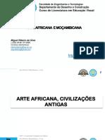 AAM - Aulas- Arte Africana