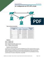 2.1.4.5 Lab - Configure Extended VLANs, VTP, and DTP.docx
