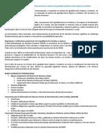 Módulo 4 Marco normativo nacional e internacional en materia de igualdad de género entre mujeres y hombres